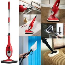 Signature 6 in 1 Red Steam Cleaner SS001