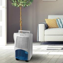 Pifco P44013 Portable Dehumidifier with Auto Defrost White