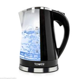 Tower 1.7 L Illuminated Colour Changing Kettle T10012