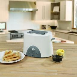 Swan 2 Slice Toaster White ST10030N