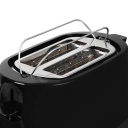 Tower 850W Black 2-Slice Toaster with Adjustable Browning Control T20004