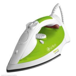 Pifco P22001 Steam Iron Ceramic Non-Stic Soleplate 2200 Watt White/Green