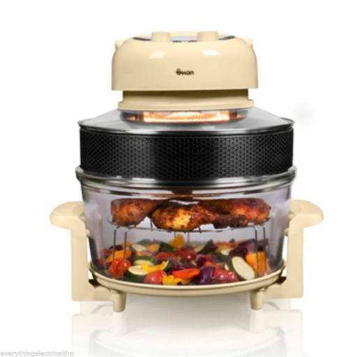Swan SF31020CN Halogen Oven and Air Fryer 1300W