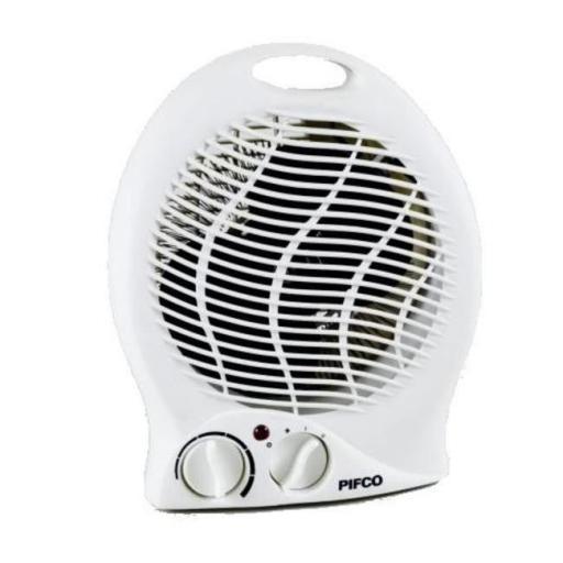 Pifco PE129 Fan Heating 2000 Watt White