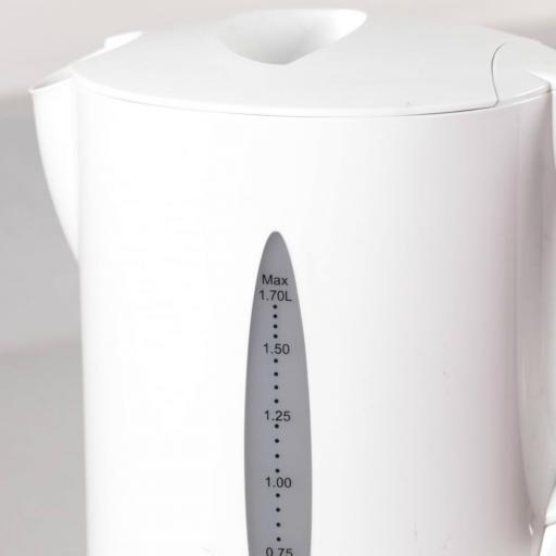 Tower T10011W Jug Kettle with Water Level Indicator 2200W 1.7L White