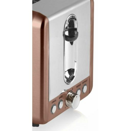 Swan ST14040COPN Copper 2 Slice Toaster