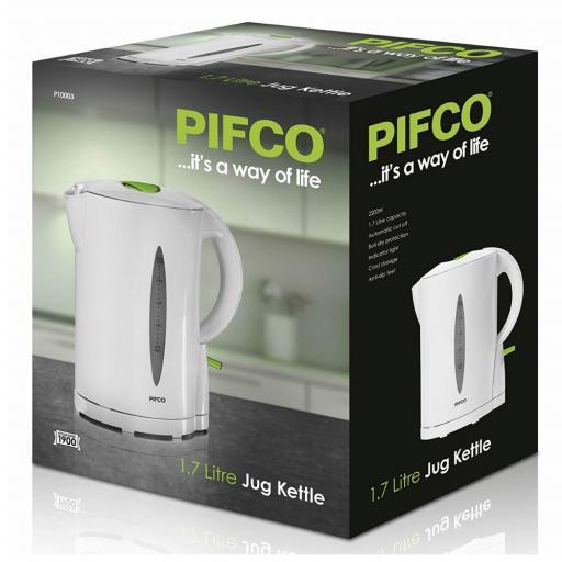 Pifco P10003 1.7 Litre Jug Kettle 2200W