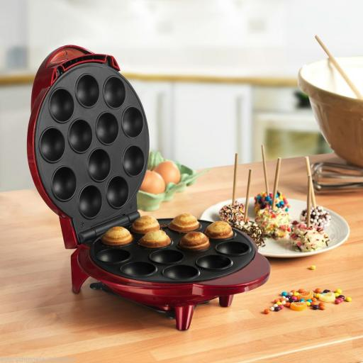 Swan SF13030REDN Pop Cake & Cup Cake Maker