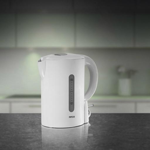 Pifco P10002S Jug Kettle 1L White 1080W