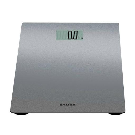 Salter 9046 Digital Bathroom Scale Silver/ Glitter