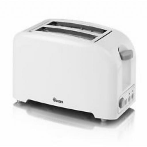 Swan ST14030N 2 Slice Toaster White Stylish Design