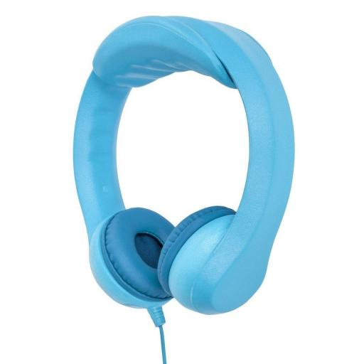 iTek I58033BL Children's Flexi Headphones Blue