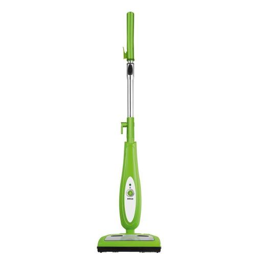 Pifco 2-in-1 1300W Green Steam/Floor Sweeper P29005