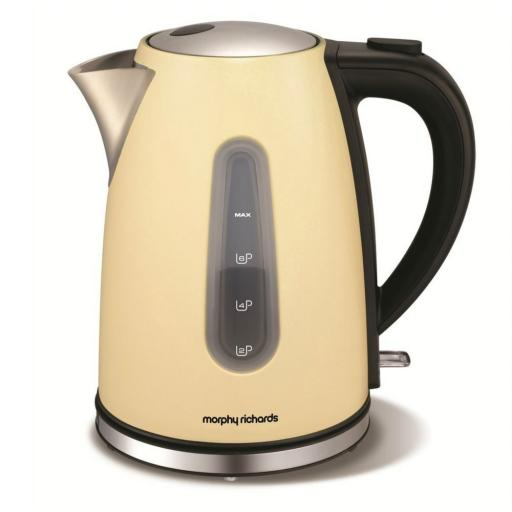 Morphy Richards 43903 Accents Jug Kettle Cream