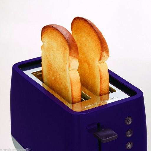 Morphy Richards 221108 CHROMA 2 Slice Toaster *Plum*