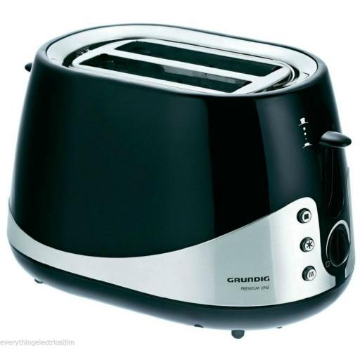 Grundig TA5040 2 Slice Toaster 1000 Watt Black