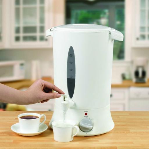 Swan SWU8P Plastic Tea Urn 8L White Brand New