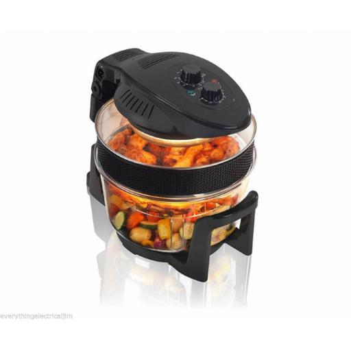 Kitchen M8 KM805B Halogen Oven 17 Litre Black