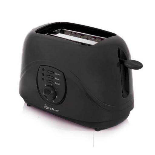 Signature Kitchen Pack Kettle & Toaster Set Black TWIN PACK