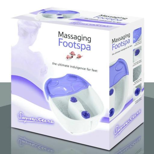Signature SFS01 Massagining Foot Spa White