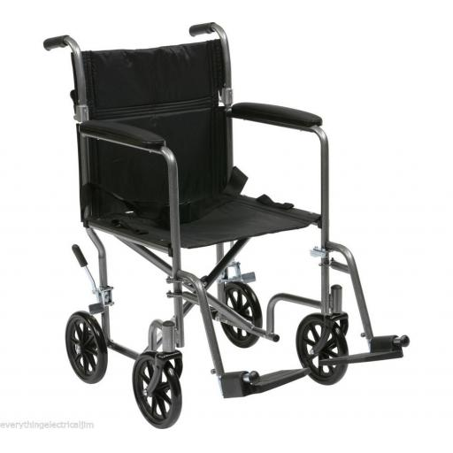 Drive Medical Lightweight Steel Travel Chair 147/2682