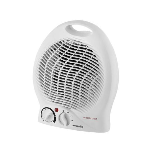 Warmlite 2000W Upright Fan Heater WL44002 *TWIN PACK*