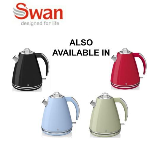 Swan SK24030CN Retro 1.5 Litre Jug Kettle Cream