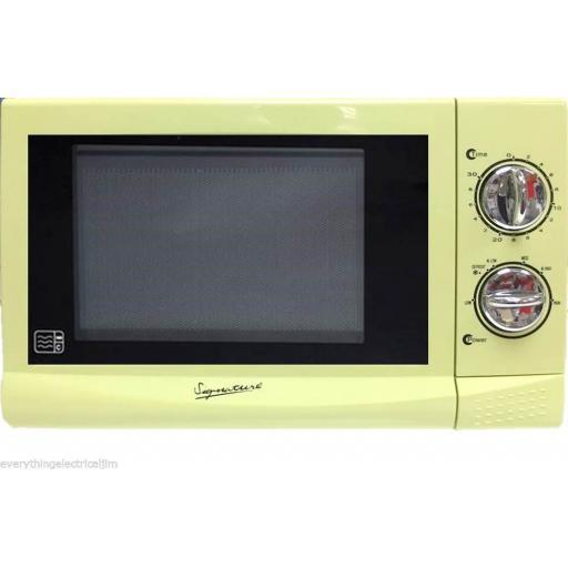 Signature S24009 Microwave 700 Watt 17 Litre Pistachio