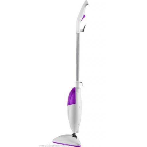 Pifco P29010PU Steam Mop with Detergent Release 1600 Watt White/Purple