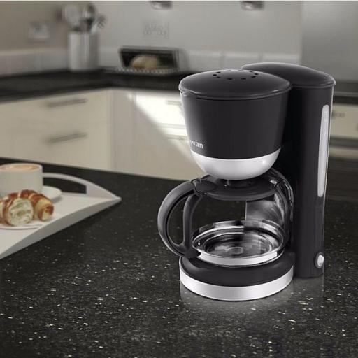 Swan SK18110BLKN 1.25L Coffee Maker Black