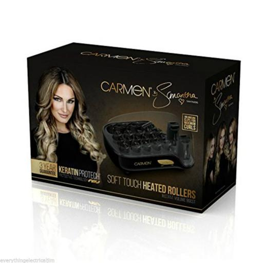 Carmen by Samantha C81041 Electric Heated Hair Rollers