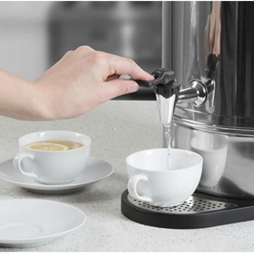 Swan SWU10L Tea Urn 10 Litre Bar/Drinks Equipment Stainless Steel Brand New