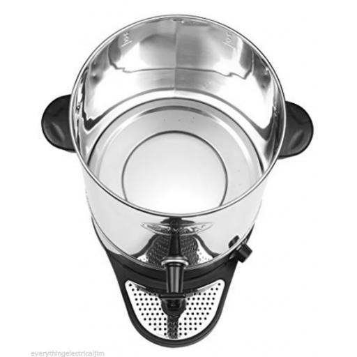 Swan SWU20L Tea Urn 20 Litre Drinks Equipment Stainless Steel Brand New