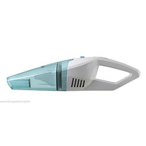 Pifco P28008 Wet and Dry Handheld Vacuum Cleaner Bagless White/Blue