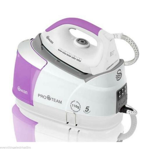 Swan SI4060N Steam Generator Iron 2400 Watt White/Pink