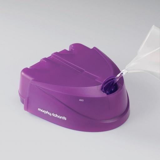 Morphy Richards 333001 Power Steam IntelliTemp Steam Generator - Purple